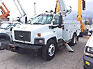 Altec L42-MH, Over-Center Material Handling Bucket Truck center mounted on 2009 Chevrolet C8500 Utility Truck
