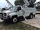 Altec L42-MH, Over-Center Material Handling Bucket Truck center mounted on 2009 Chevrolet C8500 Utility Truck