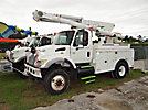Altec L42A, Bucket Truck center mounted on 2003 International 7300 4x4 Utility Truck