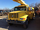 Altec L42A, Over-Center Bucket Truck, center mounted on, 1999 International 4900 Utility Truck