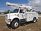 Altec L42A, Over-Center Bucket Truck, center mounted on, 2001 International 4800 4x4 Utility Truck