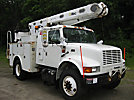 Altec L42A, Over-Center Bucket Truck, center mounted on, 2002 International 4700 Extended-Cab Utility Truck