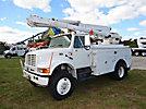 Altec L42A, Over-Center Bucket Truck, center mounted on, 2002 International 4800 4x4 Utility Truck
