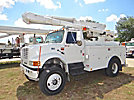 Altec L42A, Over-Center Bucket Truck, center mounted on, 2002 International 4800 4x4 Utility Truck