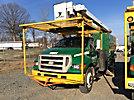 Altec L42A, Over-Center Bucket Truck, center mounted on, 2003 International 4200 Utility Truck