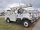 Altec L42A, Over-Center Bucket Truck, center mounted on, 2003 International 7300 4x4 Utility Truck