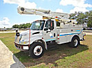 Altec L42A, Over-Center Bucket Truck, center mounted on, 2004 International 4200 Utility Truck