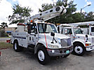Altec L42A, Over-Center Bucket Truck, center mounted on, 2005 International 4200 Utility Truck