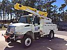 Altec L42A, Over-Center Bucket Truck, center mounted on, 2009 International 4300-M7 4x4 Utility Truck