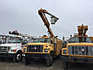 Altec L42A, Over-Center Bucket Truck center mounted on 1998 GMC C7500 Utility Truck