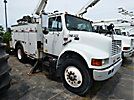 Altec L42A, Over-Center Bucket Truck center mounted on 1999 Ford 4700 Utility Truck
