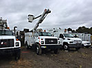 Altec L42A, Over-Center Bucket Truck center mounted on 1999 GMC C7500 Utility Truck