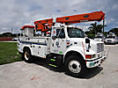 Altec L42A, Over-Center Bucket Truck center mounted on 2001 International 4700 Utility Truck
