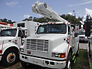 Altec L42A, Over-Center Bucket Truck center mounted on 2001 International 4800 4x4 Utility Truck