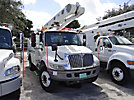 Altec L42A, Over-Center Bucket Truck center mounted on 2002 International 4300 Utility Truck