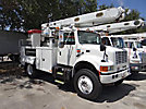Altec L42A, Over-Center Bucket Truck center mounted on 2002 International 4800 4x4 Utility Truck