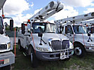 Altec L42A, Over-Center Bucket Truck center mounted on 2003 International 4200 Utility Truck
