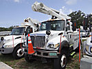 Altec L42A, Over-Center Bucket Truck center mounted on 2003 International 7300 4x4 Utility Truck