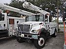 Altec L42A, Over-Center Bucket Truck center mounted on 2003 International 7300 4x4 Utility Truck