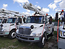 Altec L42A, Over-Center Bucket Truck center mounted on 2004 International 4200 Utility Truck
