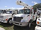 Altec L42A, Over-Center Bucket Truck center mounted on 2004 International 4200 Utility Truck