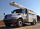 Altec L42A, Over-Center Bucket Truck center mounted on 2004 International 4300 Utility Truck