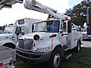 Altec L42A, Over-Center Bucket Truck center mounted on 2005 International 4200 Utility Truck