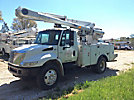 Altec L42A, Over-Center Bucket Truck center mounted on 2007 International 4300 Utility Truck