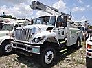 Altec L42A, Over-Center Bucket Truck center mounted on 2009 International 7300 4x4 Utility Truck