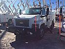 Altec L42M, Over-Center Material Handling Bucket Truck center mounted on 2009 Chevrolet C8500 Utility Truck