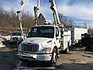 Altec L42P, Over-Center Bucket Truck, center mounted on, 2005 Freightliner M2-106 Utility Truck