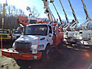 Altec L45-MH, Over-Center Material Handling Bucket Truck, center mounted on, 2006 Freightliner M2-106 Utility Truck