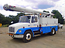 Altec LRIII-52, Material Handling Bucket, mounted behind cab on, 1999 Freightliner FL70 Utility Truck