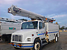 Altec LRV-52, Over-Center Bucket Truck, center mounted on, 2001 Freightliner FL70 Utility Truck