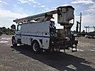 Altec LRV-52, Over-Center Bucket Truck rear mounted on 2000 Freightliner FL70 Utility Truck