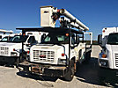 Altec LRV-55, Over-Center Bucket Truck, rear mounted on, 2005 GMC C7500 Flatbed Truck