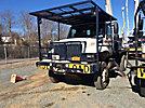 Altec LRV-57, Over-Center Bucket Truck, rear mounted on, 2004 International 7300 4x4 Flatbed Truck