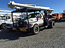 Altec LRV-57RM, Over-Center Bucket Truck, rear mounted on, 2007 Ford F750 Flatbed Truck