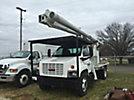Altec LRV60-E70, Over-Center Bucket Truck rear mounted on 2005 GMC C7500 Flatbed Truck