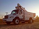 Altec TA37M, Articulating & Telescopic Material Handling Bucket Truck, mounted behind cab on, 2005 Freightliner M2 106 Utility Truck