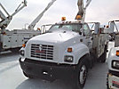 Altec TA40, Articulating & Telescopic Bucket Truck, center mounted on, 1998 GMC C7500 Utility Truck