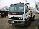 Altec TA40, Articulating & Telescopic Bucket Truck, center mounted on, 2004 GMC T7500 Utility Truck