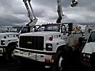 Altec TA40, Articulating & Telescopic Bucket Truck, mounted behind cab on, 2001 Chevrolet C7500 Utility Truck