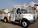 Altec TA40, Articulating & Telescopic Bucket Truck, mounted behind cab on, 2003 International 4300 Utility Truck