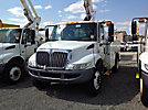 Altec TA40, Articulating & Telescopic Bucket Truck, mounted behind cab on, 2004 International 4300 Utility Truck