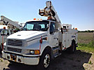 Altec TA40, Articulating & Telescopic Bucket Truck, mounted behind cab on, 2004 Sterling Acterra Utility Truck