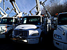 Altec TA40, Articulating & Telescopic Bucket Truck, mounted behind cab on, 2005 Freightliner M2-106 Utility Truck