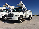 Altec TA40, Articulating & Telescopic Bucket Truck, mounted behind cab on, 2005 Freightliner M2 Utility Truck
