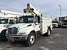 Altec TA40, Articulating & Telescopic Bucket Truck, mounted behind cab on, 2005 International 4300 Utility Truck
