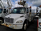 Altec TA40, Articulating & Telescopic Bucket Truck, mounted behind cab on, 2006 Freightliner M2-106 Utility Truck